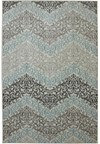 Shaw Living Kathy Ireland Home Ohana Paradise Volcano Dusk (Beige) Rectangle 1'11