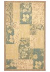 Nourison Collection Library Ashton House (AS24-BLK) Runner 2'3