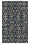 Nourison Nourtex India House (IH63-BRN) Rectangle 2'6