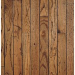 "Bruce Trumbull Strip Rustic Oak: Honey 3/4"" x 2 1/4"" Solid Oak Hardwood CR2250"