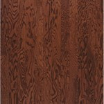 "Bruce Turlington Plank Oak: Cherry 3/8"" x 3"" Engineered Oak Hardwood E538"