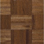 "Armstrong Urethane Parquet Oak: Windsor 5/16"" x 12"" Solid Oak Hardwood 112120"