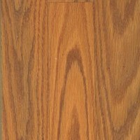 Quick-Step Home Sound Collection: Butterscotch Oak 3-Strip 7mm Laminate with Attached Pad SFS023