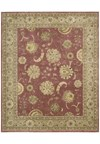 Capel Rugs Creative Concepts Cane Wicker - Canvas Glacier (419) Octagon 6' x 6' Area Rug
