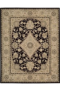 Capel Rugs Creative Concepts Cane Wicker - Canvas Buttercup (127) Octagon 8' x 8' Area Rug