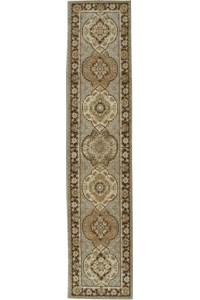Capel Rugs Creative Concepts Cane Wicker - Vera Cruz Ocean (445) Octagon 8' x 8' Area Rug
