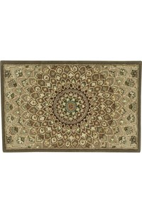 Capel Rugs Creative Concepts Cane Wicker - Cayo Vista Sand (710) Octagon 8' x 8' Area Rug