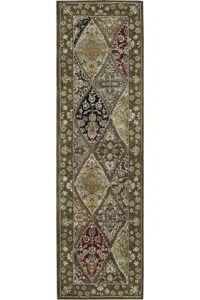 Capel Rugs Creative Concepts Cane Wicker - Java Journey Chestnut (750) Octagon 8' x 8' Area Rug