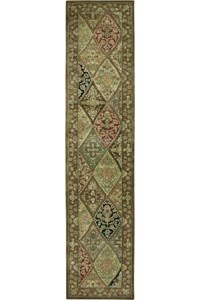 Capel Rugs Creative Concepts Cane Wicker - Couture King Chestnut (756) Octagon 8' x 8' Area Rug