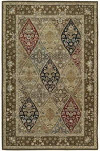 Capel Rugs Creative Concepts Cane Wicker - Canvas Melon (817) Octagon 8' x 8' Area Rug