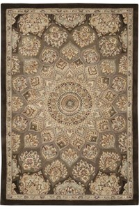 Capel Rugs Creative Concepts Cane Wicker - Bamboo Cinnamon (856) Octagon 8' x 8' Area Rug