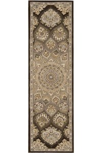 Capel Rugs Creative Concepts Cane Wicker - Bahamian Breeze Cinnamon (875) Octagon 8' x 8' Area Rug