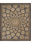Capel Rugs Creative Concepts Cane Wicker - Canvas Charcoal (355) Octagon 10' x 10' Area Rug