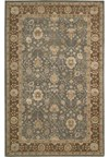 Capel Rugs Creative Concepts Cane Wicker - Java Journey Indigo (460) Octagon 12' x 12' Area Rug