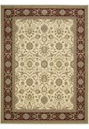 Capel Rugs Creative Concepts Cane Wicker - Canvas Glacier (419) Runner 2' 6