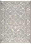 Capel Rugs Creative Concepts Cane Wicker - Coral Cascade Avocado (225) Rectangle 3' x 5' Area Rug