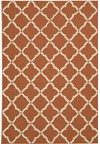 Capel Rugs Creative Concepts Cane Wicker - Dupione Caramel (150) Rectangle 4' x 4' Area Rug