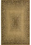 Capel Rugs Creative Concepts Cane Wicker - Tuscan Vine Adobe (830) Rectangle 4' x 4' Area Rug