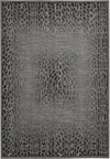 Capel Rugs Creative Concepts Cane Wicker - Canvas Black (314) Rectangle 6' x 6' Area Rug