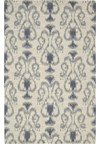 Capel Rugs Creative Concepts Cane Wicker - Imogen Cherry (520) Rectangle 6' x 6' Area Rug