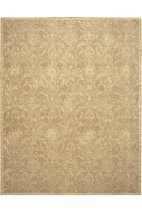 Capel Rugs Creative Concepts Cane Wicker - Canvas Buttercup (127) Rectangle 7' x 9' Area Rug