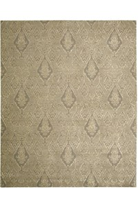 Capel Rugs Creative Concepts Cane Wicker - Bahamian Breeze Cinnamon (875) Rectangle 7' x 9' Area Rug