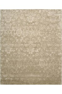 Capel Rugs Creative Concepts Cane Wicker - Vera Cruz Coal (350) Rectangle 8' x 8' Area Rug