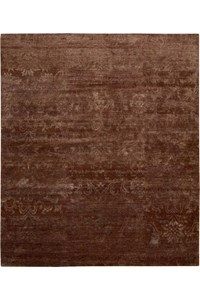 Capel Rugs Creative Concepts Cane Wicker - Down The Lane Ebony (370) Rectangle 8' x 8' Area Rug