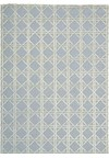 Capel Rugs Creative Concepts Cane Wicker - Bahamian Breeze Ocean (420) Rectangle 9' x 12' Area Rug