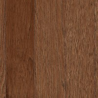 "Mohawk Berry Hill: Hickory Thrasher Brown 3/4"" x 3 1/4"" Solid Hardwood WSC35 92"