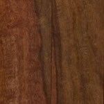 "Signature Hand-Scraped Exotic Walnut: Black Walnut 9/16"" x 4 3/4"" Engineered Hardwood"
