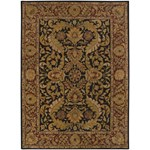 "Surya Ancient Treasures Ink (A-103) Rectangle 8'0"" x 11'0"""