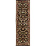 "Surya Ancient Treasures Jet Black (A-108) Rectangle 2'6"" x 8'0"""