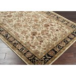 "Surya Ancient Treasures Jet Black (A-116) Rectangle 2'0"" x 3'0"""