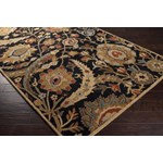 "Surya Ancient Treasures Coal Black (A-154) Rectangle 8'0"" x 11'0"""