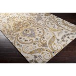 "Surya Ancient Treasures Oatmeal (A-165) Square 1'6"" x 1'6"""