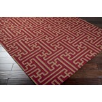 "Surya Smithsonian Archive Maroon (ACH-1701) Rectangle 2'0"" x 3'0"""