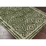 "Surya Beth Lacefield Atlas Spruce Green (ATS-1009) Rectangle 3'3"" x 5'3"""