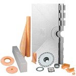 "Schluter Kerdi Shower System Kit - 72"" x 72"" Tray KK183-KIT"