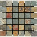 "MS International California Gold Slate Mosaic 12"" x 12"" : SMOT-CGLD-2X2-T"