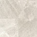"Daltile Limestone: Arctic Gray Honed 18"" x 18"" Natural Stone Tile L757-1818581U"