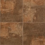 "Mannington Slate Valley: Canyon 18"" x 18"" Porcelain Tile SV4T18"
