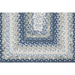 "Surya Country Living Cottage Braids Midnight Blue (CTG-4508) Rectangle 2'3"" x 3'9"""