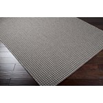 "Surya Elements Charcoal Gray (ELT-1005) Rectangle 7'10"" x 11'1"""