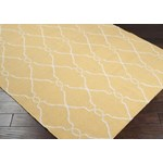 "Surya Jill Rosenwald Fallon Gold (FAL-1001) Rectangle 3'6"" x 5'6"""