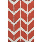 "Surya Jill Rosenwald Fallon Coral (FAL-1054) Rectangle 2'0"" x 3'0"""