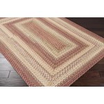 "Surya Jamestown Brick Red (JAM-4300) Rectangle 5'0"" x 8'0"""