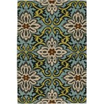 "Chandra Amy Butler (AMY13202-576) 5'0""x7'6"" Rectangle Area Rug"