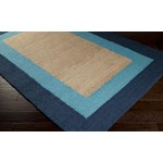 "Surya Mimosa Bright Cerulean (MIM-9002) Rectangle 3'6"" x 5'6"""