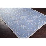 "Surya Mezzo Steel Blue (MZO-6002) Rectangle 2'0"" x 3'0"""